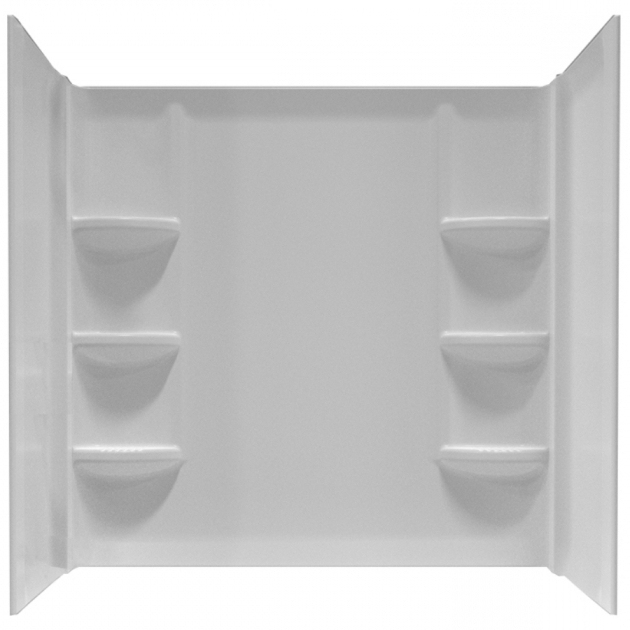 Alluring 54X27 Bathtub Shop Bathtub Surrounds At Lowes