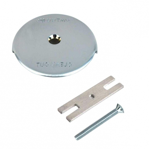 Alluring Bathtub Overflow Cover Watco 1 Hole Bathtub Overflow Plate Kit In Chrome Plated 18003 Cp