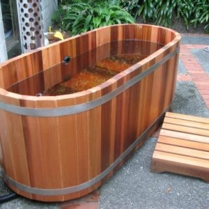 Cedar Soaking Tub