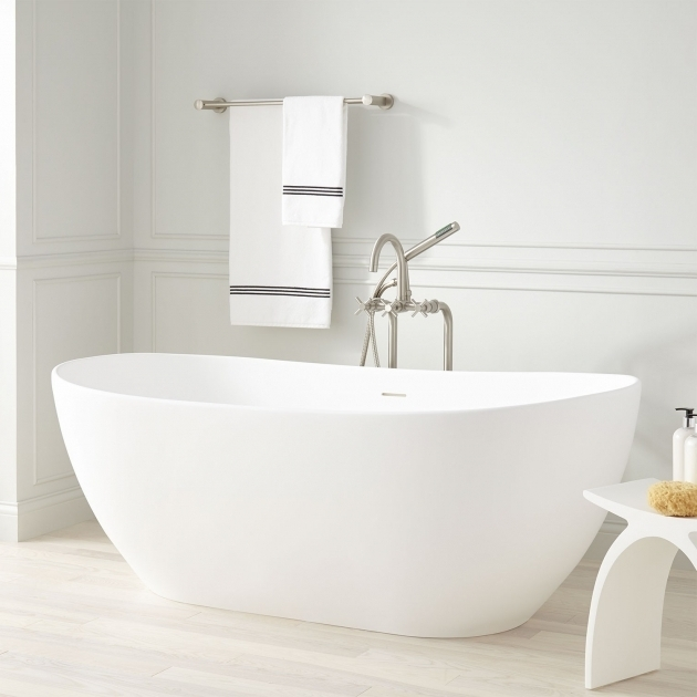 Alluring Resin Bathtubs Winifred Resin Freestanding Tub Freestanding Tubs Bathtubs