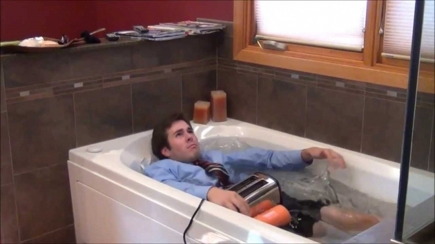 Alluring Toaster In Bathtub New Water Proof Toaster Lets Stop Toaster Related Deaths Youtube