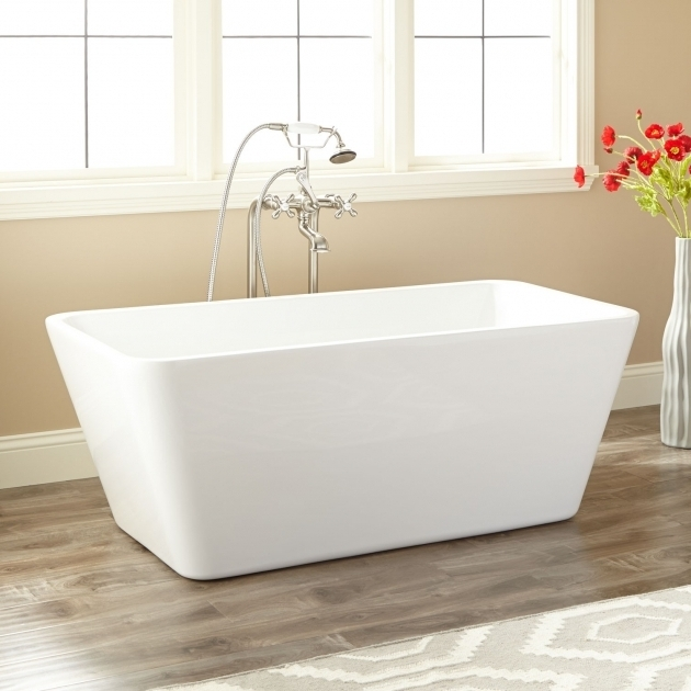 Amazing 53 Inch Bathtub 53 Baxter Acrylic Freestanding Tub Bathroom