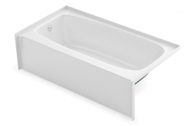 Amazing 54X27 Bathtub To 2954 Alcove Bathtubs Aker Maax