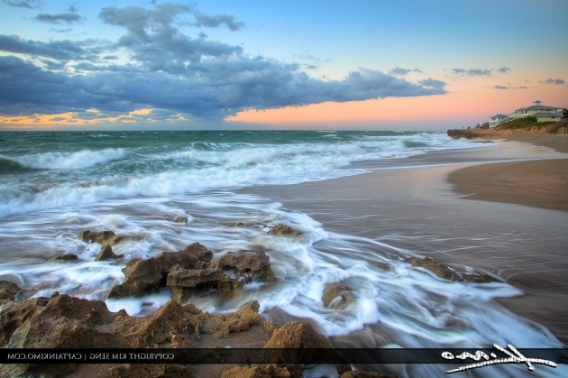 Amazing Bathtub Beach Florida Sunrise At Hutchinson Island At Bathtub Beach Florida