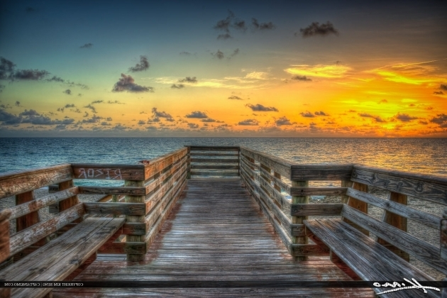 Awesome Bathtub Beach Florida Sunrise At The Stairs Stuart Florida Bathtub Beach