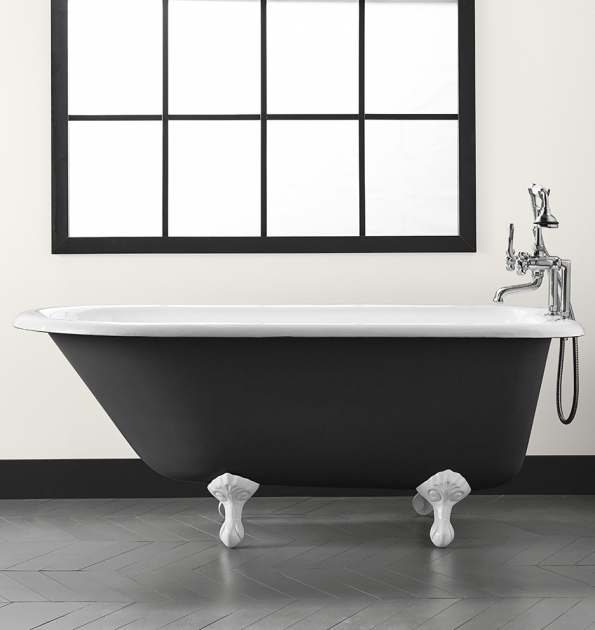 Awesome Black Clawfoot Tub 5 Clawfoot Tub With Black Exterior Rejuvenation