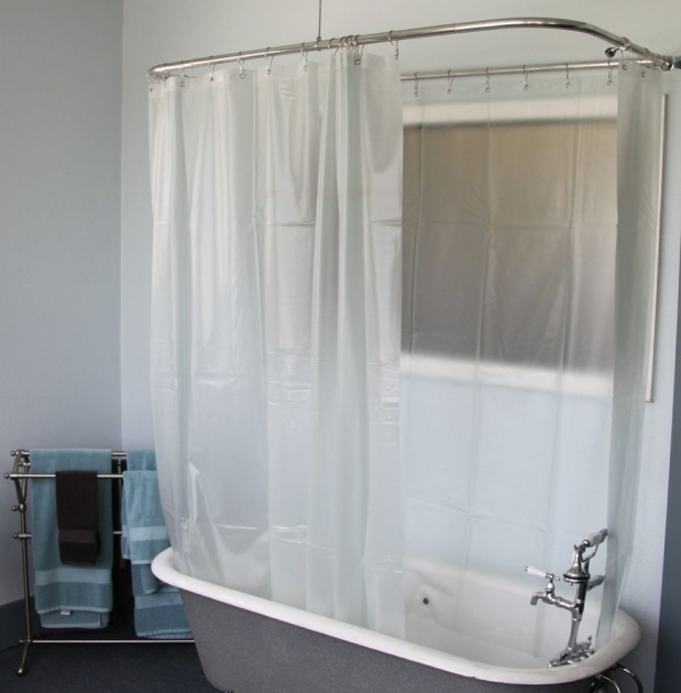Beautiful Shower Curtains For Clawfoot Tub Clawfoot Tub Shower Addashower Kit For Clawfoot Tub In Chrome