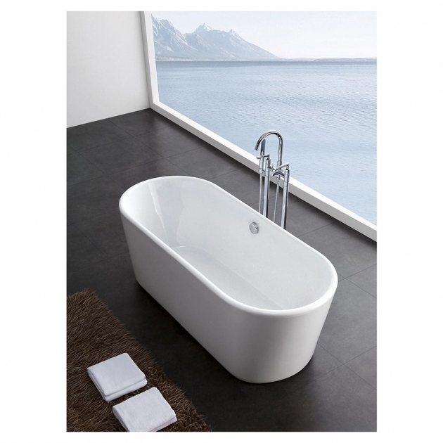 Beautiful Wyndham Collection Soaking Tubs Jenna 59 Small Soaking Bathtroom Tub Wyndham Collection Free