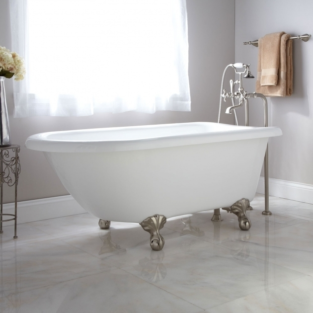 Fantastic Built In Clawfoot Tub Rayne Acrylic Clawfoot Tub Bathroom