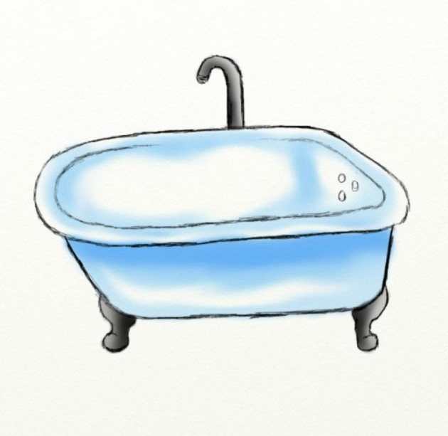 Fantastic How To Draw A Bathtub How To Draw A Bath Tub Hubpages
