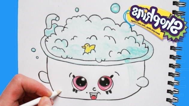 Fantastic How To Draw A Bathtub How To Draw Shopkins Season 5 Bertha Bath Step Step Easy