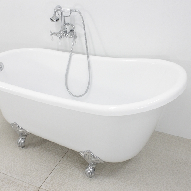 Fascinating 54 Clawfoot Tub Hlsw54fpk 54 Hotel Collection Swedish Slipper Clawfoot Tub