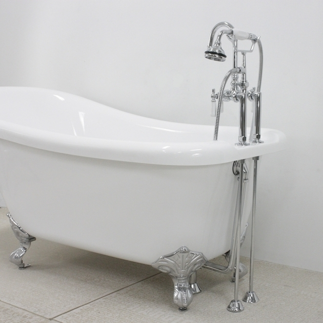 Fascinating Clawfoot Tub Supply Lines Simple Installation Clawfoot Tub Supply Lines The Decoras