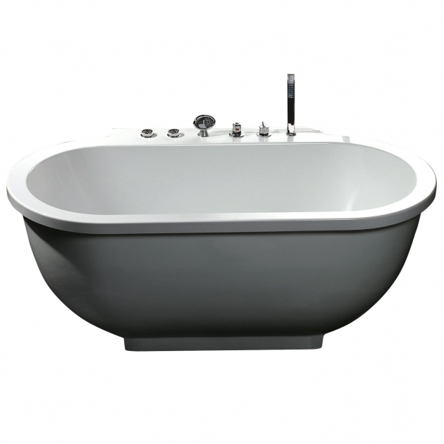 Fascinating Small Whirlpool Tub Ariel Bath 71 X 37 Whirlpool Bathtub Reviews Wayfair