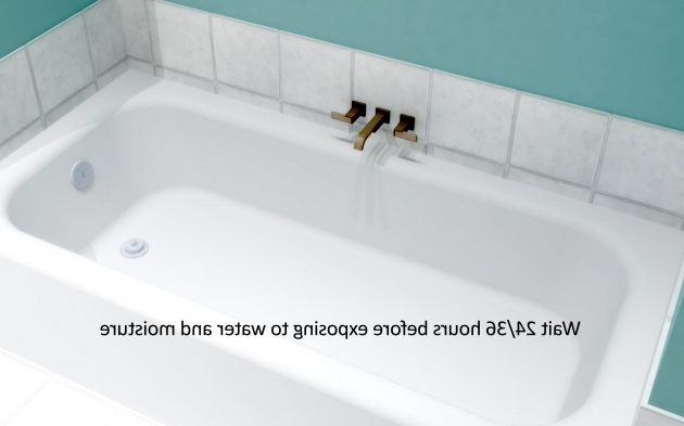Gorgeous How Long Is A Bathtub How To Caulk A Bathtub 10 Steps With Pictures Wikihow