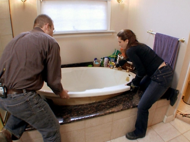 Gorgeous How To Install A Whirlpool Tub How To Install A Whirlpool Bathtub How Tos Diy