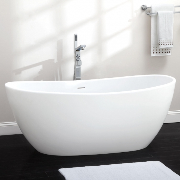 Gorgeous Resin Bathtubs 65 Lacota Resin Freestanding Tub Bathroom