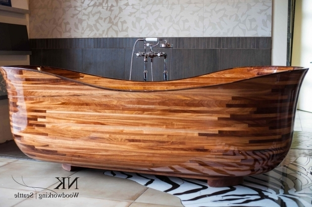 Gorgeous Wooden Bathtub Plans Appealing Wooden Bathtub Idea Saturnofsouthlake
