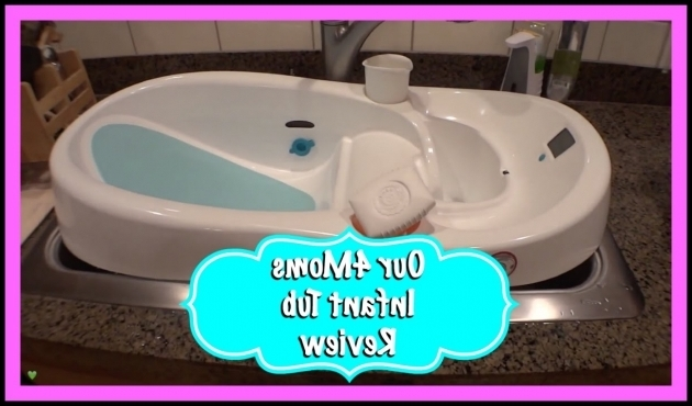Image of 4Moms Baby Bathtub Ba Bathtub Review 4moms Infant Tub Youtube