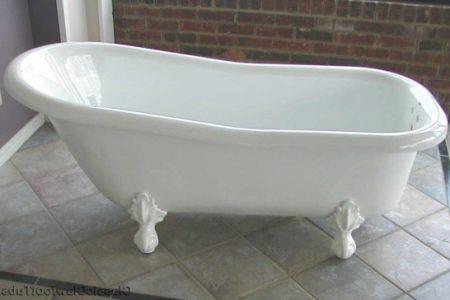 Fiberglass Clawfoot Tub