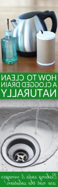 Image of How To Unclog A Bathtub Drain With Baking Soda Best 25 Clogged Drains Ideas On Pinterest Unclogging Drains