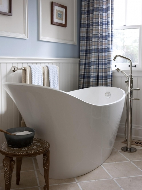 Image of Porcelain Soaking Tub Bathtub Styles Options Pictures Ideas Tips From Hgtv Hgtv
