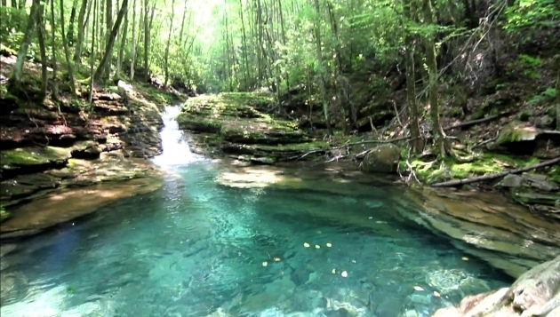Image of The Devils Bathtub Pool At Devils Bathtub Youtube