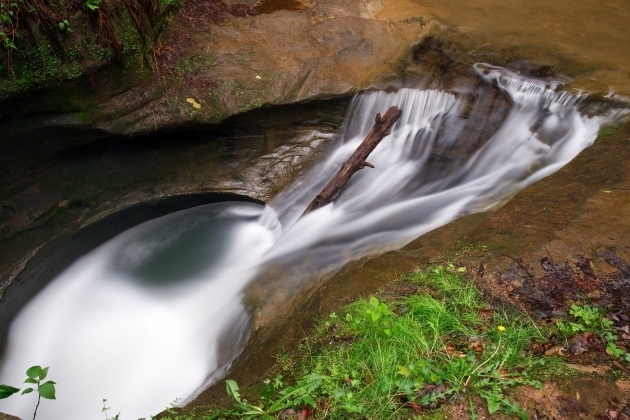 Image of The Devils Bathtub What Is The Devils Bathtub In Hocking Hills Inn Spa At Cedar