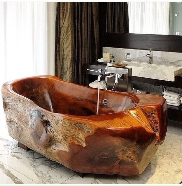 Image of Wooden Bathtub Plans Appealing Wooden Bathtub Idea Saturnofsouthlake