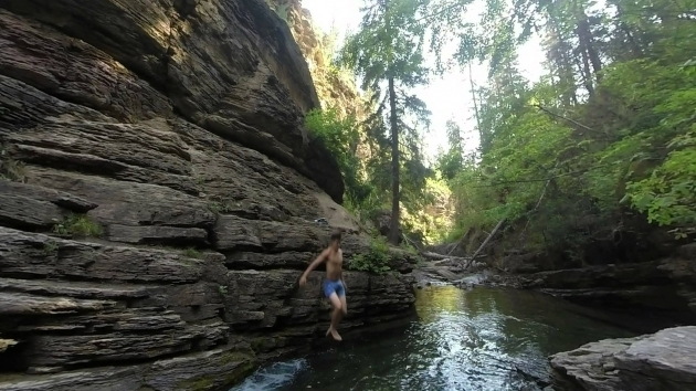 Incredible Devils Bathtub Devils Bathtub Spearfish Canyon South Dakota Youtube