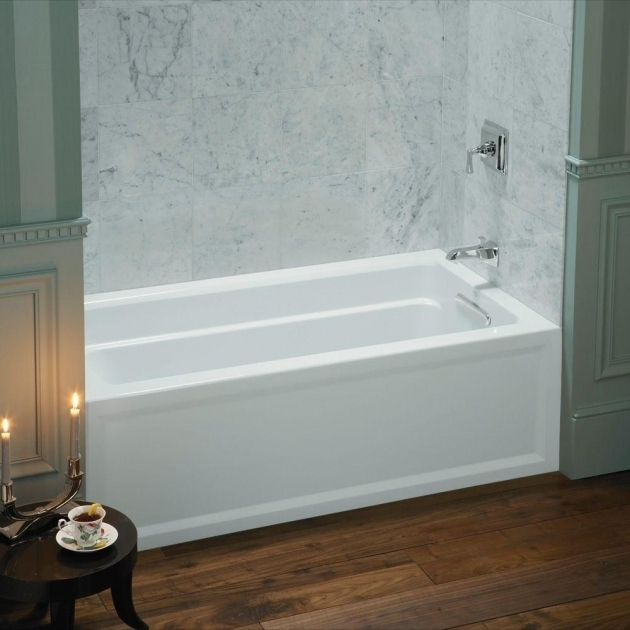 Incredible Kohler Deep Soaking Tub Kohler Archer 5 Ft Acrylic Left Hand Drain Rectangular Farmhouse