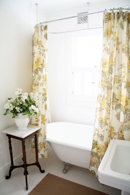 Incredible Shower Curtains For Clawfoot Tub Best 25 Clawfoot Tub Shower Ideas On Pinterest