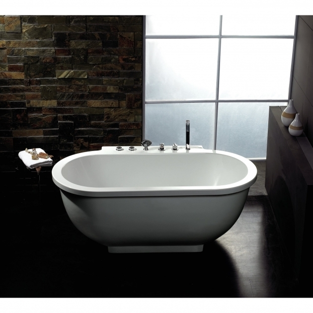 Incredible Small Whirlpool Tub Ariel Bath 71 X 37 Whirlpool Bathtub Reviews Wayfair