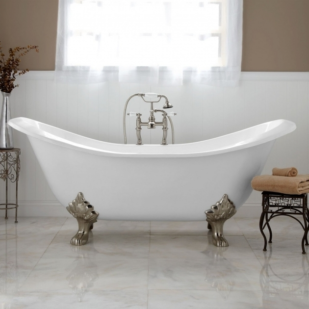 Inspiring Antique Clawfoot Tub For Sale Antique Clawfoot Tub Clawfoot Tub With Tile This Idea But Not The