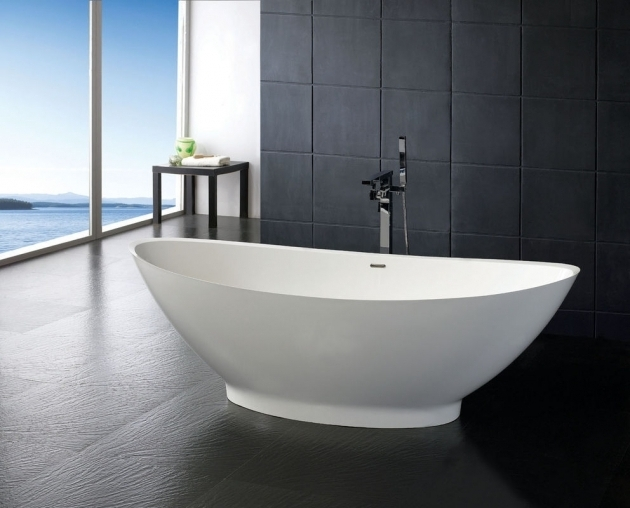 Inspiring Resin Bathtubs Soaker Tubs Free Standing Stone Resin Bathtub Bathroom