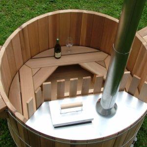 Wood Fired Japanese Soaking Tub