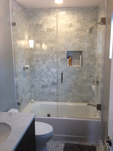 Marvelous Half Glass Shower Door For Bathtub Best 25 Tub Enclosures Ideas On Pinterest