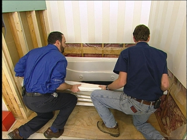 Marvelous How To Install A Whirlpool Tub How To Prepare A Bathroom Before Installing A Whirlpool Tub How