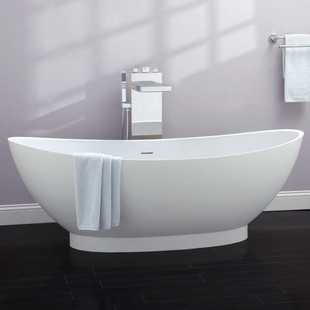 Marvelous Resin Bathtubs 71 Brielle Resin Freestanding Tub Bathroom