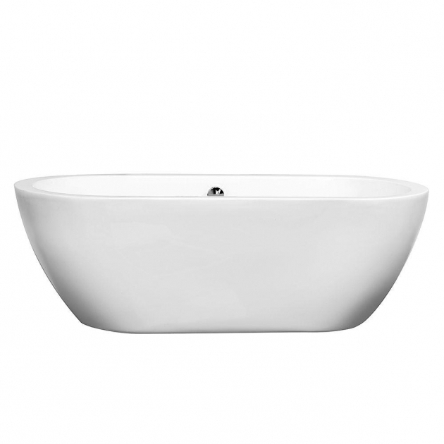 Marvelous Wyndham Collection Soaking Tubs Wyndham Collection Soho 567 Ft Center Drain Soaking Tub In White