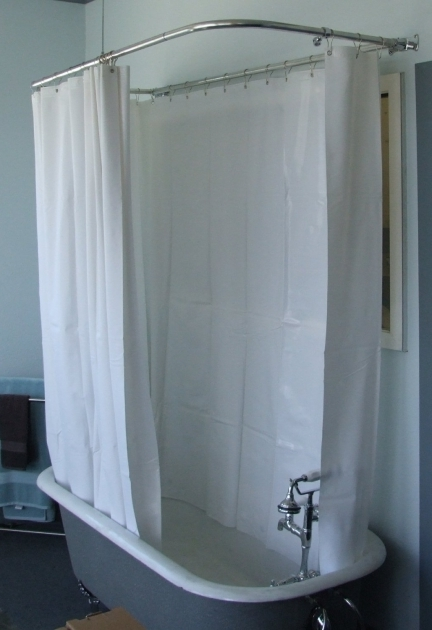 Outstanding Shower Curtains For Clawfoot Tub 180 Shower Curtain For Clawfoot Tubs 55 For Our Brownstone