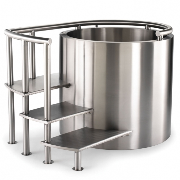 Outstanding Stainless Steel Soaking Tub The Stainless Steel Ofuro Description This Soaking Tub Is