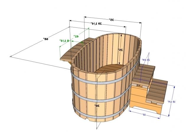 Outstanding Wood Fired Japanese Soaking Tub Japanese Wood Ofuro Soaking Tub For 2 Wood Fired Heater Ebay