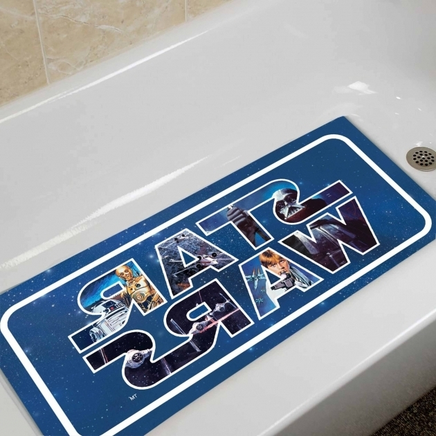Picture of Bathtub Wars Star Wars Tub Mat Walmart