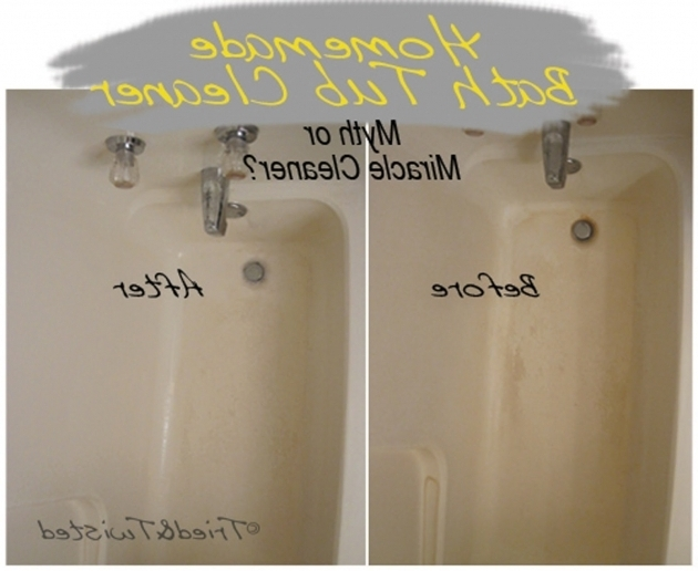 Picture of Best Cleaner For Bathtub Tried And Twisted Myth Or Miracle Cleaner Series Clean Your Bath