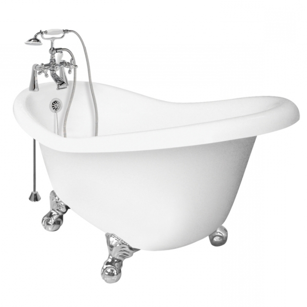 Remarkable Lowes Clawfoot Tub Shop American Bath Factory Ascot Acrylic Round Clawfoot Bathtub
