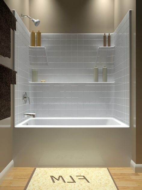 Remarkable Soaking Tub Shower Combo Tub And Shower One Piece