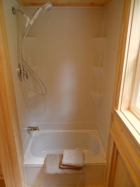 Remarkable Tiny House Bathtub Ynez Tiny House 6 Perfect Showerbath For Tiny Homemodern I
