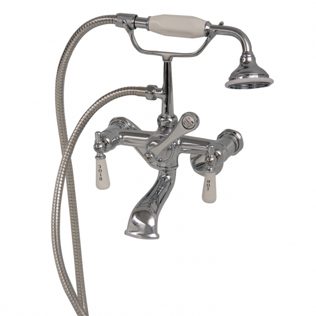 Stunning Clawfoot Tub Handheld Shower Clawfoot Tub Filler Elephant Spout Hand Held Shower Swivel