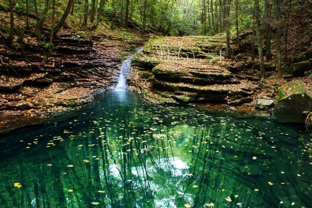 Stunning Devils Bathtub The Devils Bathtub Ft Blackmore Virginia United States